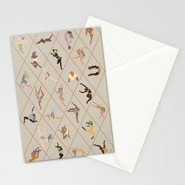 Modern Dancers Stationery Cards