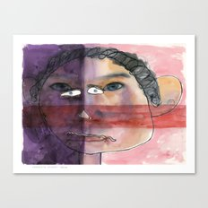 I feel shy Canvas Print