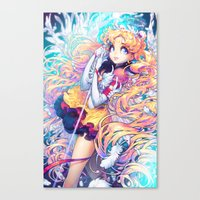 barachan Canvas Prints featuring kiseki by barachan