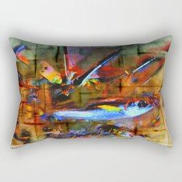 painting fish Rectangular Pillow
