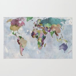 Task: Find the countries that are missing! Rug