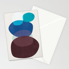 Shapes Abstract 3 Stationery Cards
