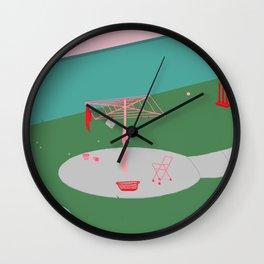 Hills Hoist Wall Clock