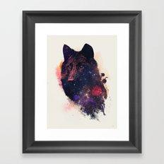 Universal Wolf Framed Art Print
