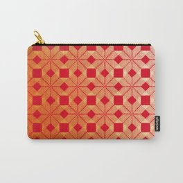 Fire Snow, Snowflakes #03 Carry-All Pouch
