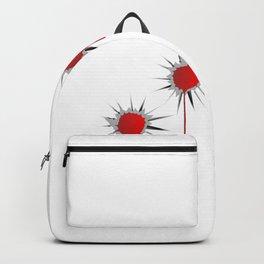 Blooded Bullet Holes Backpack