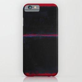 Rothko Inspired #6 iPhone Case