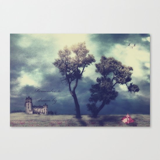 Remember to Dream Big Canvas Print