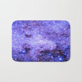 Lavender gAlAxy. Bath Mat