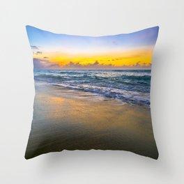 Sunset Smooth Throw Pillow
