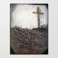 cross Canvas Prints featuring Cross by Jean-François Dupuis