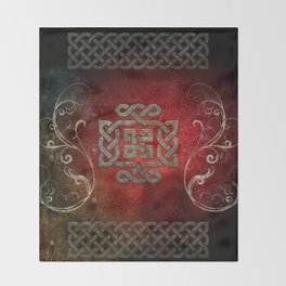 The celtic knot Throw Blanket