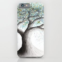 Lucent Lake Tree  iPhone Case