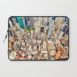 New York Buildings Laptop Sleeve