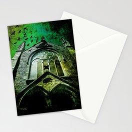 Gothic church Stationery Cards