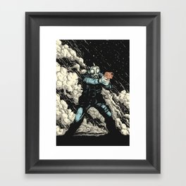 Attack! Framed Art Print