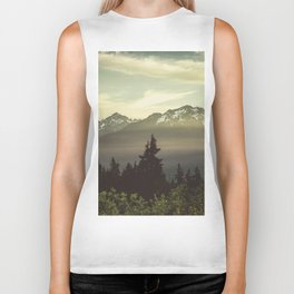 Morning in the Mountains Biker Tank