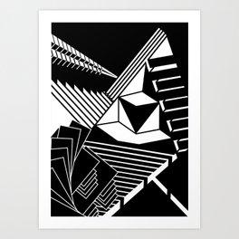 playing with angles Art Print