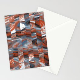 Abstract 458 Stationery Cards