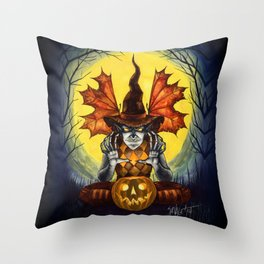 From the Dust to the Grave Throw Pillow