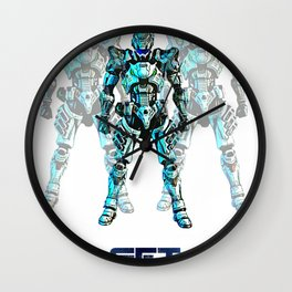 Get Vanquished! Wall Clock