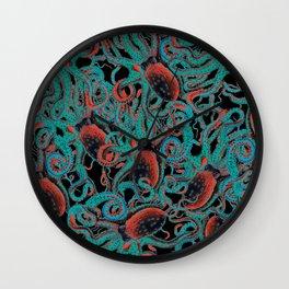 Riptide_lava Wall Clock