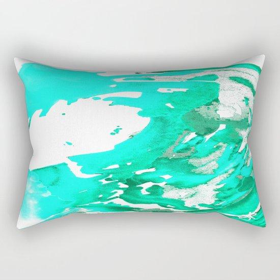 Aqua Aguas Aguas Rectangular Pillow