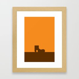Lives in a Shoe_5 Framed Art Print