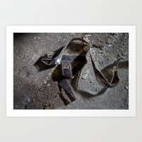 film Art Prints featuring Film by New England Ruins