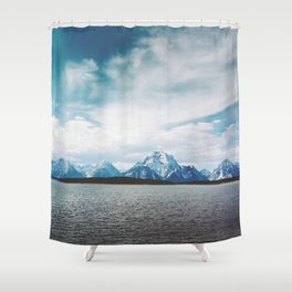 Dreaming of Mountains and Sky Shower Curtain