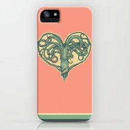 Squid Valentine iPhone Case