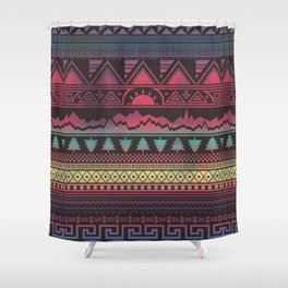 Autunno   Tribal Shower Curtain