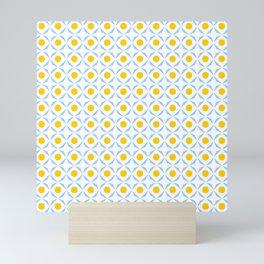 symmetric patterns 116 – polka dot Mini Art Print