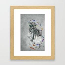 Floats Away Framed Art Print