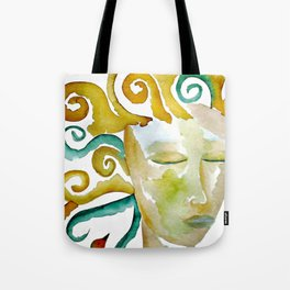 Mother Earth Goddess Gaia Tote Bag