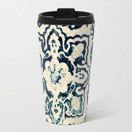 tile pattern - Portuguese azulejos Travel Mug