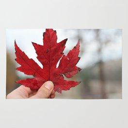Canadian Leaf Rug
