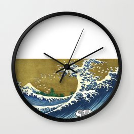 Lop Rabbit  - Bunny  Wall Clock