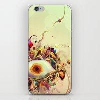 third eye iPhone & iPod Skins featuring Third Eye by Igor Šćekić