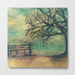 A day at the Park Metal Print