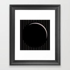 Button 1 Framed Art Print