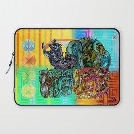 Mysticx & Magick: The Japanese Elemental Gods - Art Cover Laptop Sleeve
