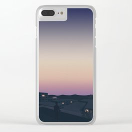 Here's to the fools who dream Clear iPhone Case