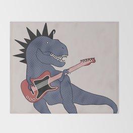He-Rex Electric Guitar Throw Blanket
