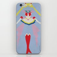 sailor moon iPhone & iPod Skins featuring Sailor Moon by JHTY