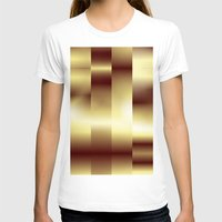 copper T-shirts featuring Copper Pattern by Robin Curtiss
