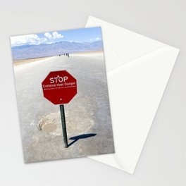 Extreme Heat Danger Stationery Cards