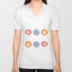 doughnut selection Unisex V-Neck