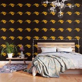Golden eyelash viper Wallpaper
