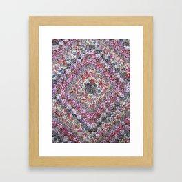 Liberty of London Patchwork Quilt Framed Art Print